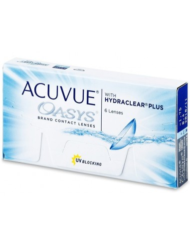 Двухнедельные линзы ACUVUE OASYS with HYDRACLEAR Plus
